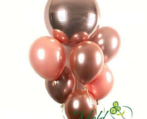 Set din 9 baloane cu heliu